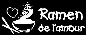 logo ramen de l'amour recettes de ramen japon bouillon et materiel
